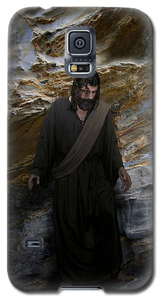 Jesus Christ- The Lord Is My Light And My Salvation Galaxy S5 Case