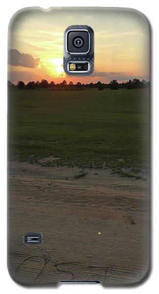 Jesus Healing Sunset Galaxy S5 Case