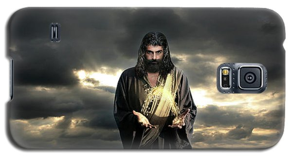 Jesus In The Clouds Galaxy S5 Case