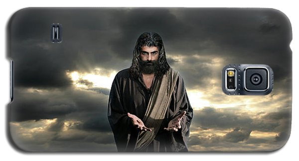 Jesus In The Clouds With Glory Galaxy S5 Case