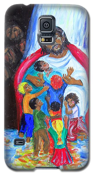 Jesus Loves The Children Galaxy S5 Case