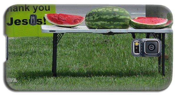 Jesus Watermelon Galaxy S5 Case