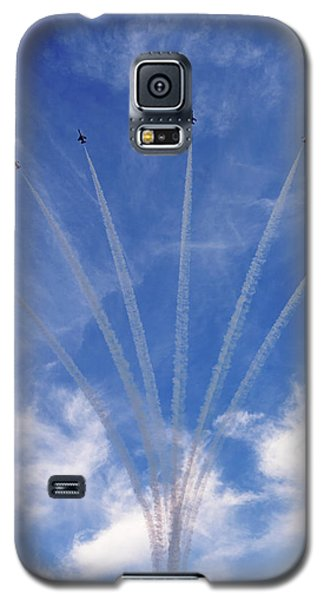 Jet Planes Formation In Sky Galaxy S5 Case