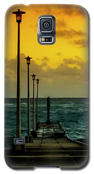 Jetty At Sunrise Galaxy S5 Case