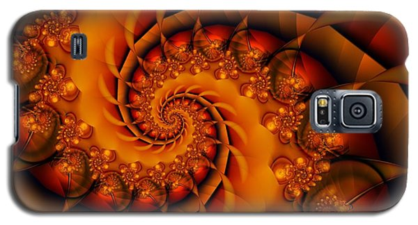 Jewels Of Autumn Galaxy S5 Case by Michelle H