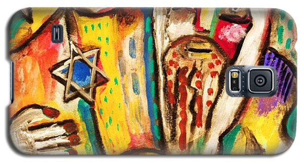 Jewish Celebrations Rejoicing In The Torah Galaxy S5 Case