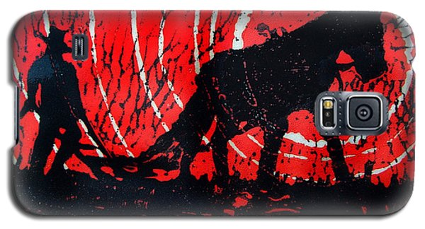 Galaxy S5 Case featuring the relief Jezebel And Me by Seth Weaver