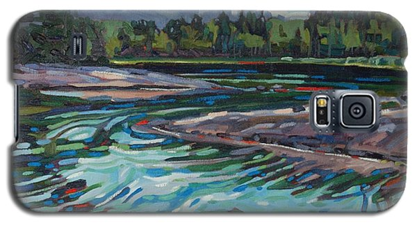 Jim Afternoon Rapids Galaxy S5 Case