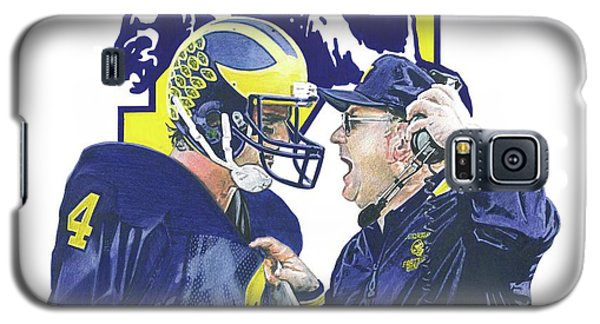 Jim Harbaugh And Bo Schembechler Galaxy S5 Case