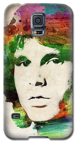 Jim Morrison Colorful Portrait Galaxy S5 Case