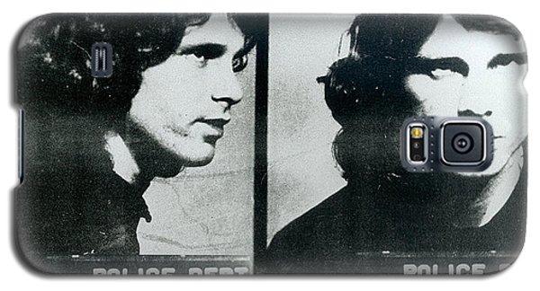 Jim Morrison Mug Shot Horizontal Galaxy S5 Case