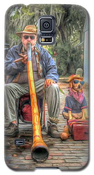 Jim Olds And Tanner Galaxy S5 Case by Marion Johnson