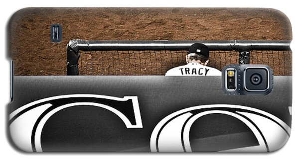 Jim Tracy Rockies Manager Galaxy S5 Case