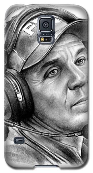 Jimbo Fisher Galaxy S5 Case by Greg Joens