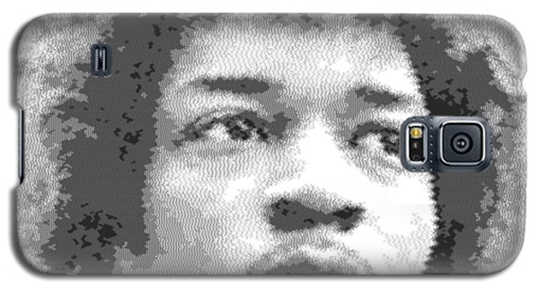 Jimi Hendrix - Cross Hatching Galaxy S5 Case