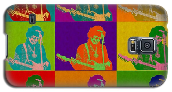 Jimi Hendrix In The Style Of Andy Warhol Galaxy S5 Case