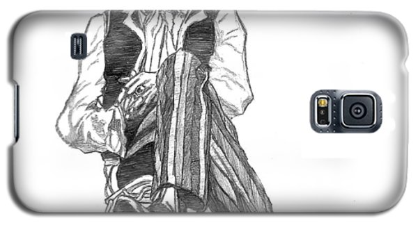 Jimi Galaxy S5 Case by Rachel Natalie Rawlins