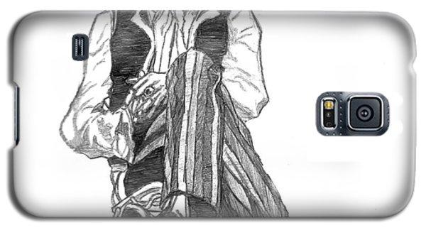 Music Galaxy S5 Case - Jimi by Rachel Natalie Rawlins