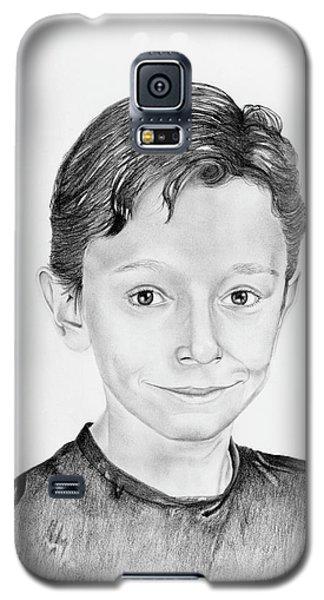 Galaxy S5 Case featuring the drawing Jimmy by Mayhem Mediums