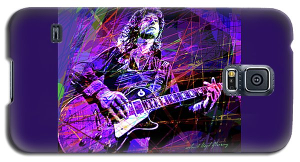 Jimmy Page Solos Galaxy S5 Case
