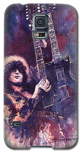 Galaxy S5 Case - Jimmy Page  by Yuriy Shevchuk