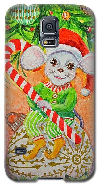 Jingle Mouse Galaxy S5 Case by Li Newton