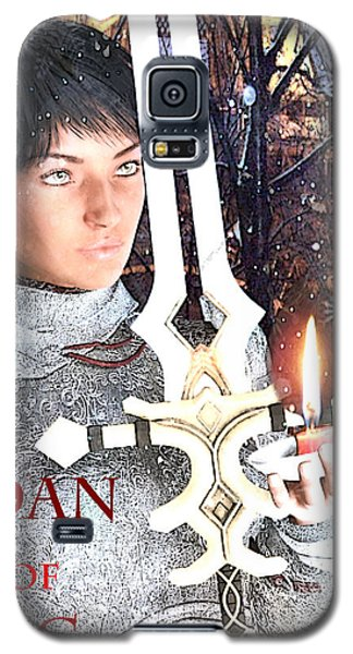 Joan Of Arc Poster 2 Galaxy S5 Case by Suzanne Silvir