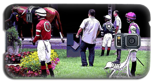 Jockeys Painting Galaxy S5 Case
