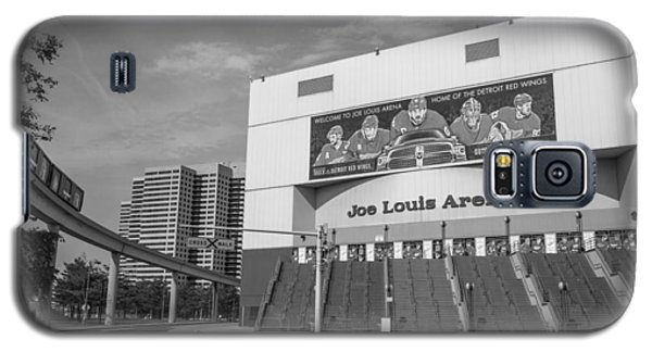 Joe Louis Arena Black And White  Galaxy S5 Case