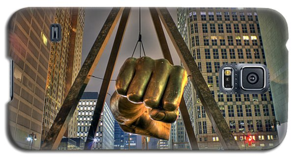 Joe Louis Fist Detroit Mi Galaxy S5 Case