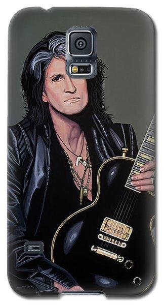 Joe Perry Of Aerosmith Painting Galaxy S5 Case by Paul Meijering