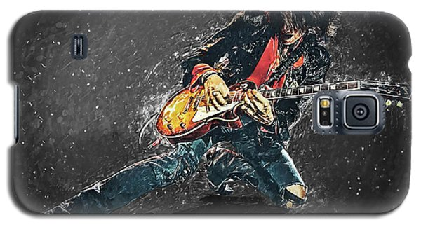 Steven Tyler Galaxy S5 Case - Joe Perry by Taylan Soyturk