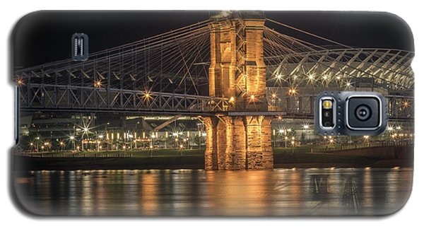 John A. Roebling Suspension Bridge Galaxy S5 Case by Scott Meyer