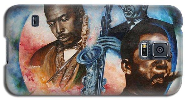 Blaa Kattproduksjoner     John Coltrane - Jazzed  Galaxy S5 Case