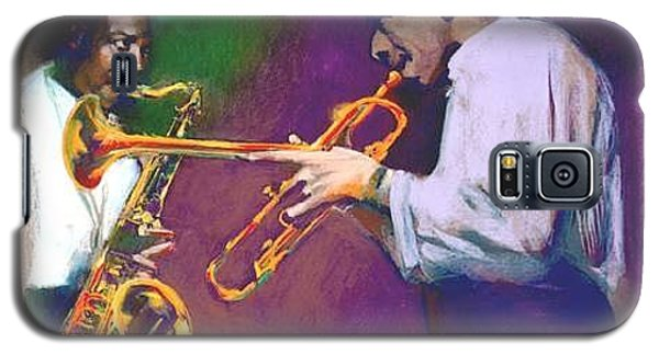 John Coltrane- Lee Morgan Horn Play Galaxy S5 Case
