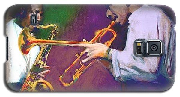 Horn Play - John Coltrane - Lee Morgan  Galaxy S5 Case