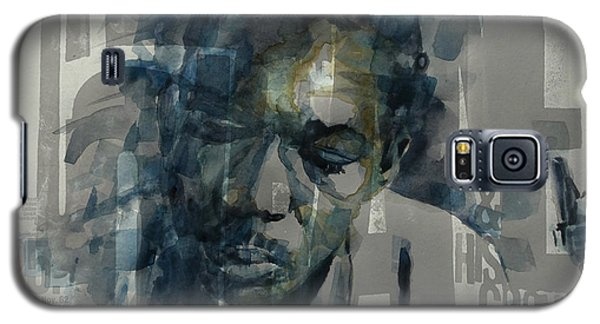 Galaxy S5 Case featuring the mixed media John Coltrane  by Paul Lovering