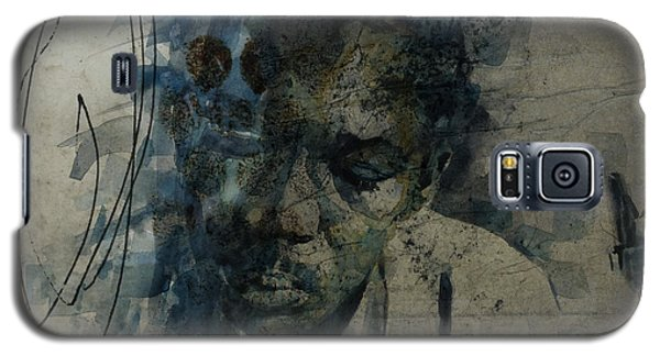 Galaxy S5 Case featuring the mixed media John Coltrane / Retro by Paul Lovering