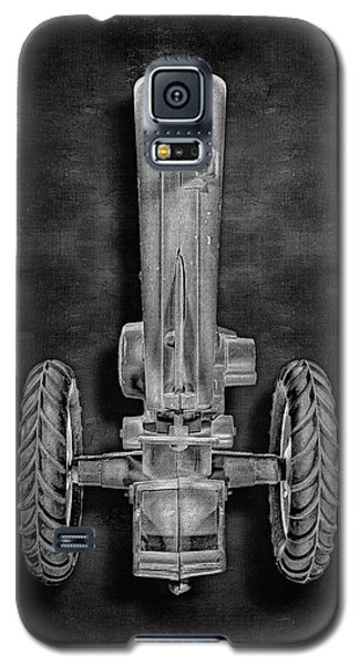 Galaxy S5 Case featuring the photograph John Deere Top Bw by YoPedro