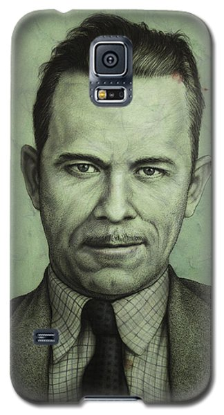 John Dillinger Galaxy S5 Case by James W Johnson