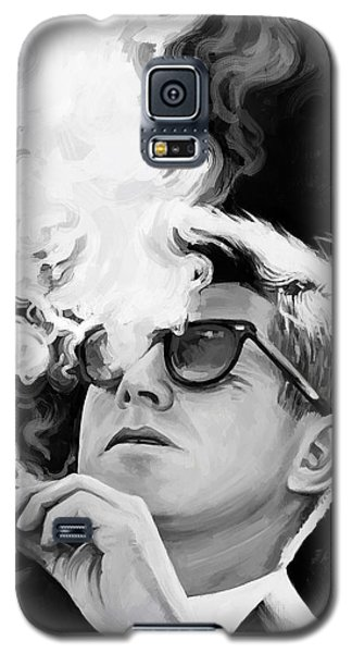 Galaxy S5 Case featuring the painting John F. Kennedy Artwork 1 by Sheraz A