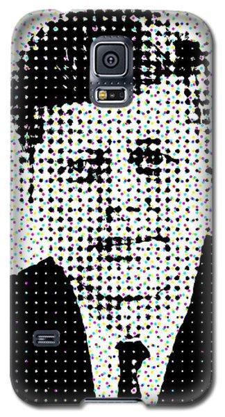John F Kennedy In Dots Galaxy S5 Case