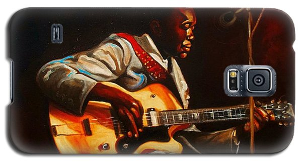 Galaxy S5 Case featuring the painting John Lee by Emery Franklin