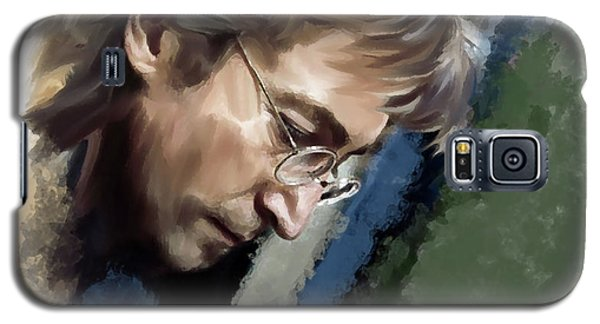 John Lennon Caring To Know Galaxy S5 Case
