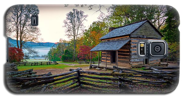 John Oliver Place In Cades Cove Galaxy S5 Case by Rick Berk