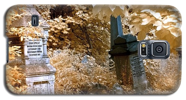 Autumnal Walk At Abney Park Cemetery Galaxy S5 Case