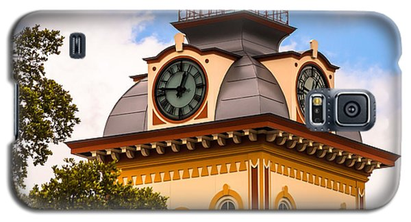 John W. Hargis Hall Clock Tower Galaxy S5 Case by Ed Gleichman