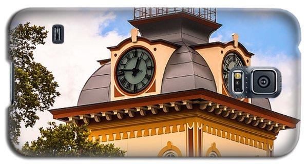 John W. Hargis Hall Clock Tower Galaxy S5 Case