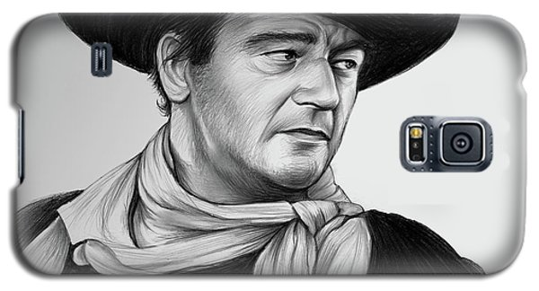 Duke Galaxy S5 Case - John Wayne 29jul17 by Greg Joens