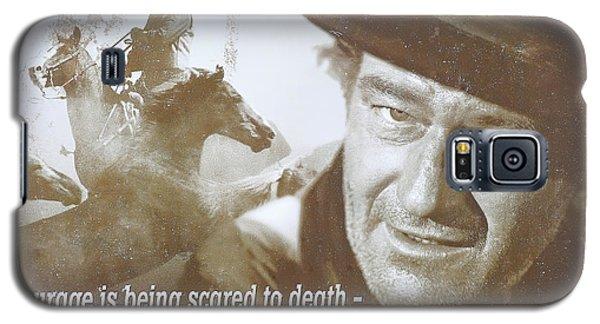 John Wayne - The Duke Galaxy S5 Case by Donna Kennedy